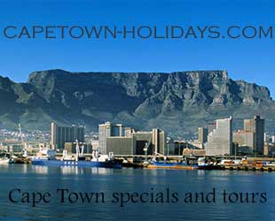 Cape Town Accommodation Specials