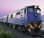 The Blue Train in South Africa