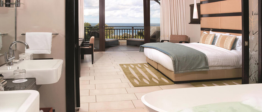 Deluxe Garden Suite at Zimbali resort