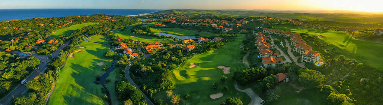 ZImbali Coastal Estate Aerial View